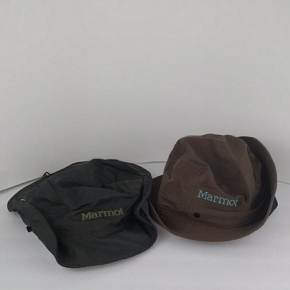 Two Marmot Bucket Style Hats. M 5acfd0da84b5ceb0960f6653 1bee1faa154